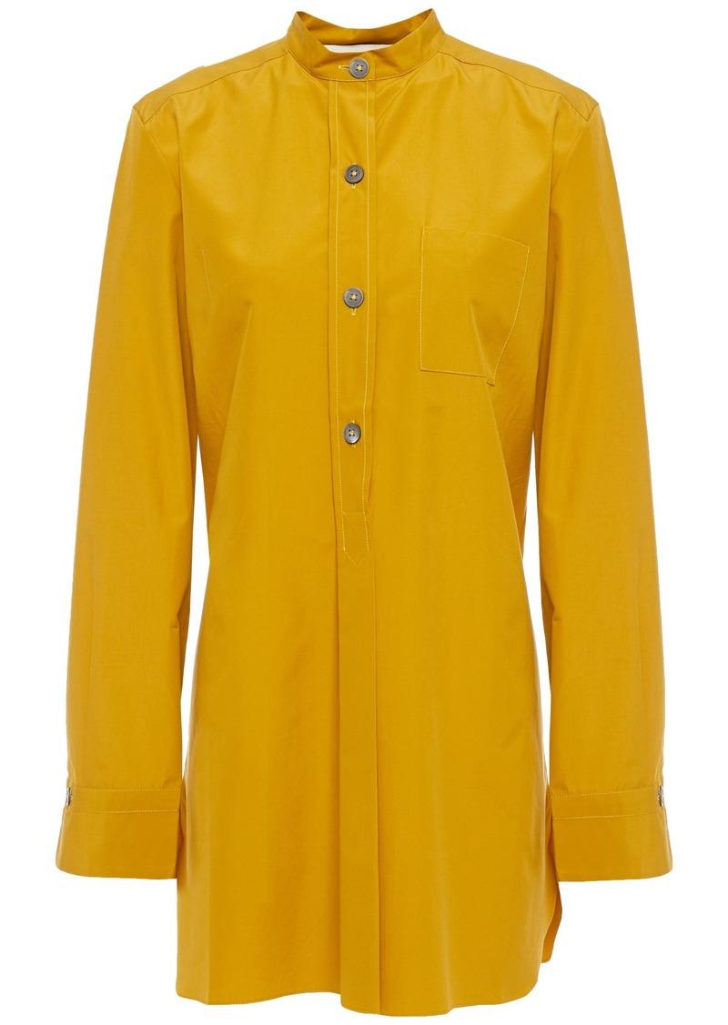 Marni Woman Cotton-poplin Tunic Mustard