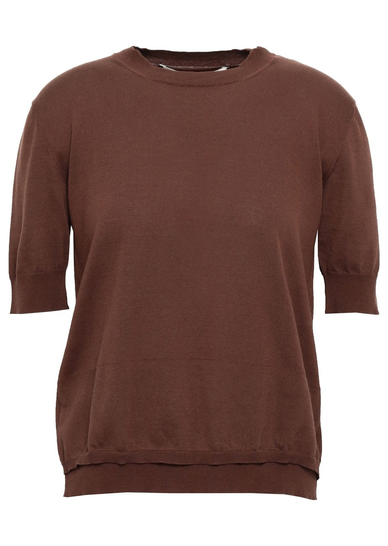 Marni Woman Cotton Top Brown