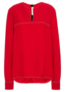 Marni Woman Crepe Blouse Red