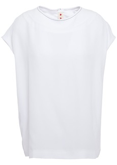 Marni Woman Crepe Top White