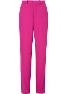 Marni Woman Crepe Wide-leg Pants Fuchsia