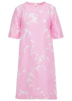 Marni Woman Jacquard Mini Dress Baby Pink