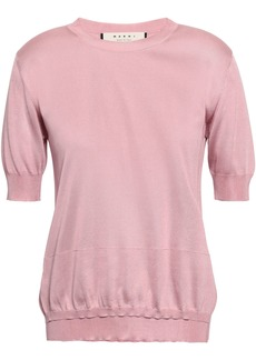 Marni Woman Silk Top Baby Pink