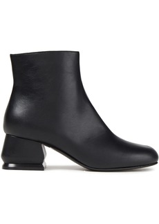 Marni Woman Leather Ankle Boots Black