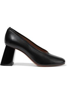 Marni Woman Leather Pumps Black