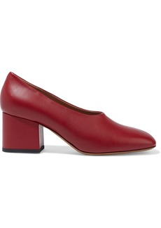 Marni Woman Leather Pumps Claret