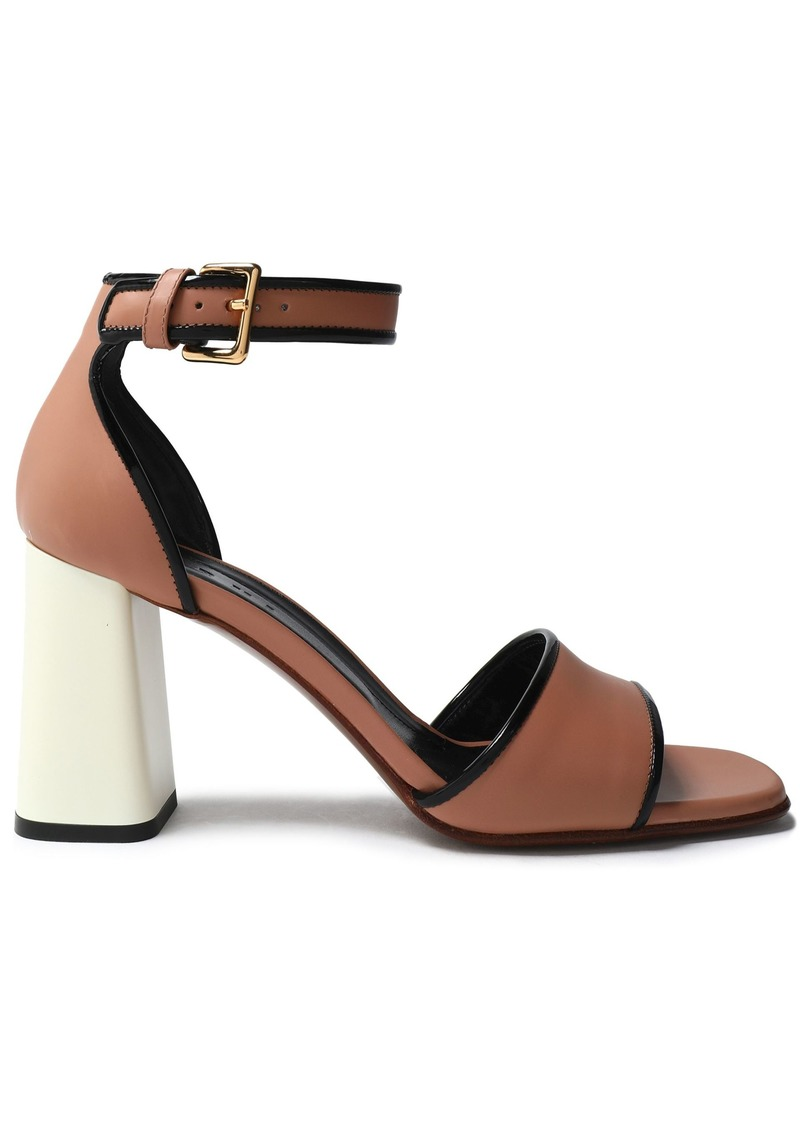 Marni Woman Leather Sandals Antique Rose