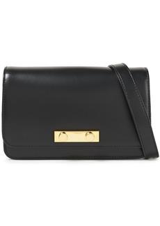 Marni Woman Leather Shoulder Bag Black