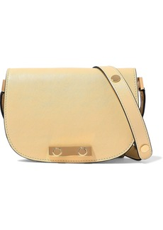 Marni Woman Leather Shoulder Bag Pastel Yellow