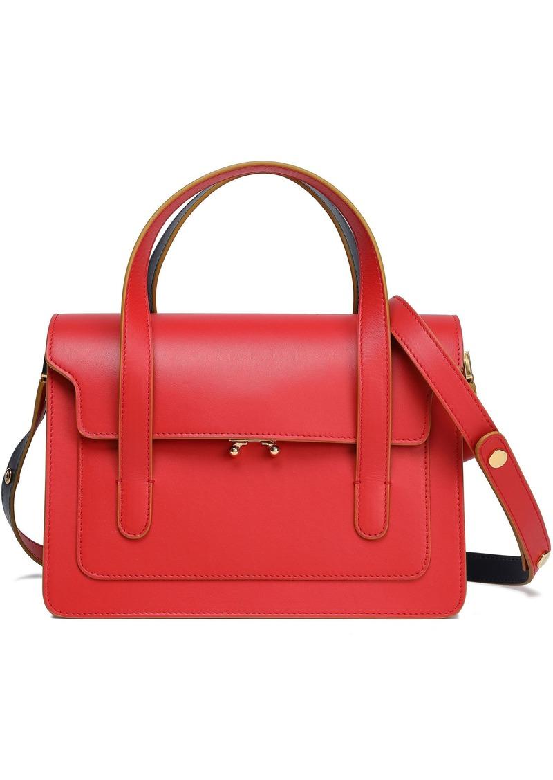 Marni Woman Leather Shoulder Bag Red