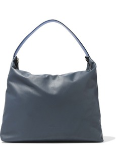 Marni Woman Leather Tote Cobalt Blue