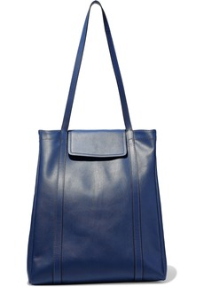 Marni Woman Leather Tote Indigo