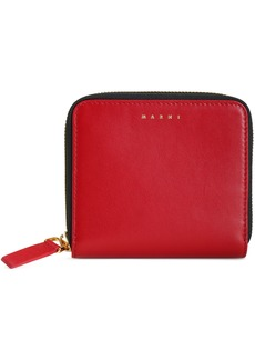 Marni Woman Leather Wallet Claret
