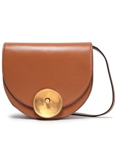 Marni Woman Moline Leather Shoulder Bag Camel
