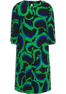 Marni Woman Printed Cady Dress Black