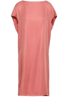 Marni Woman Silk Crepe De Chine Dress Antique Rose