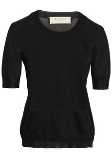 Marni Woman Silk Top Black