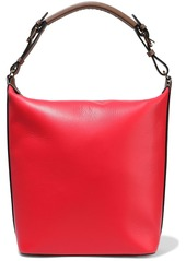 Marni Woman Textured-leather Tote Tomato Red