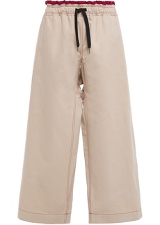 Marni Woman Wide Leg Pants Sand