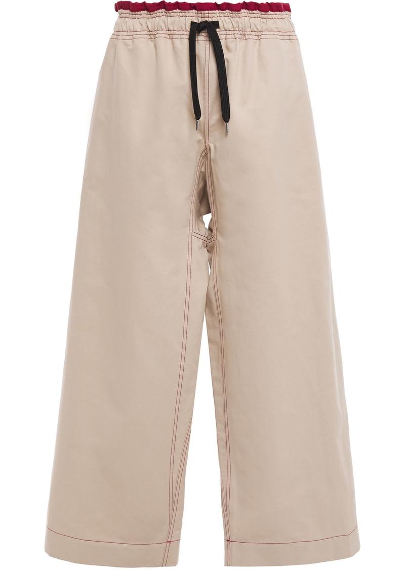 Marni Woman Wide Leg Pants Sand