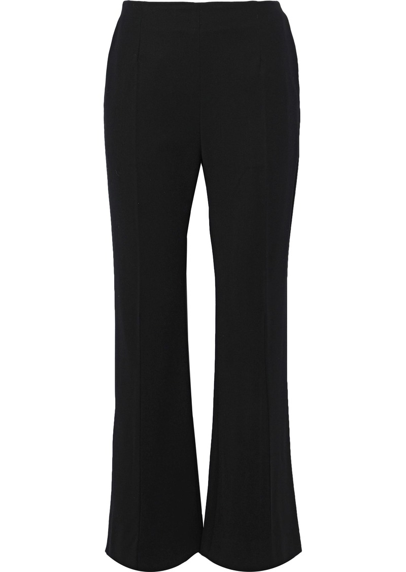 Marni Woman Wool-blend Twill Bootcut Pants Black