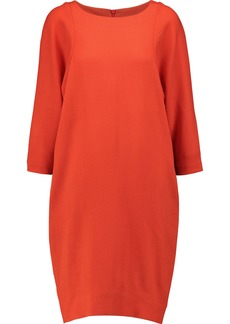 Marni Woman Wool-crepe Dress Papaya