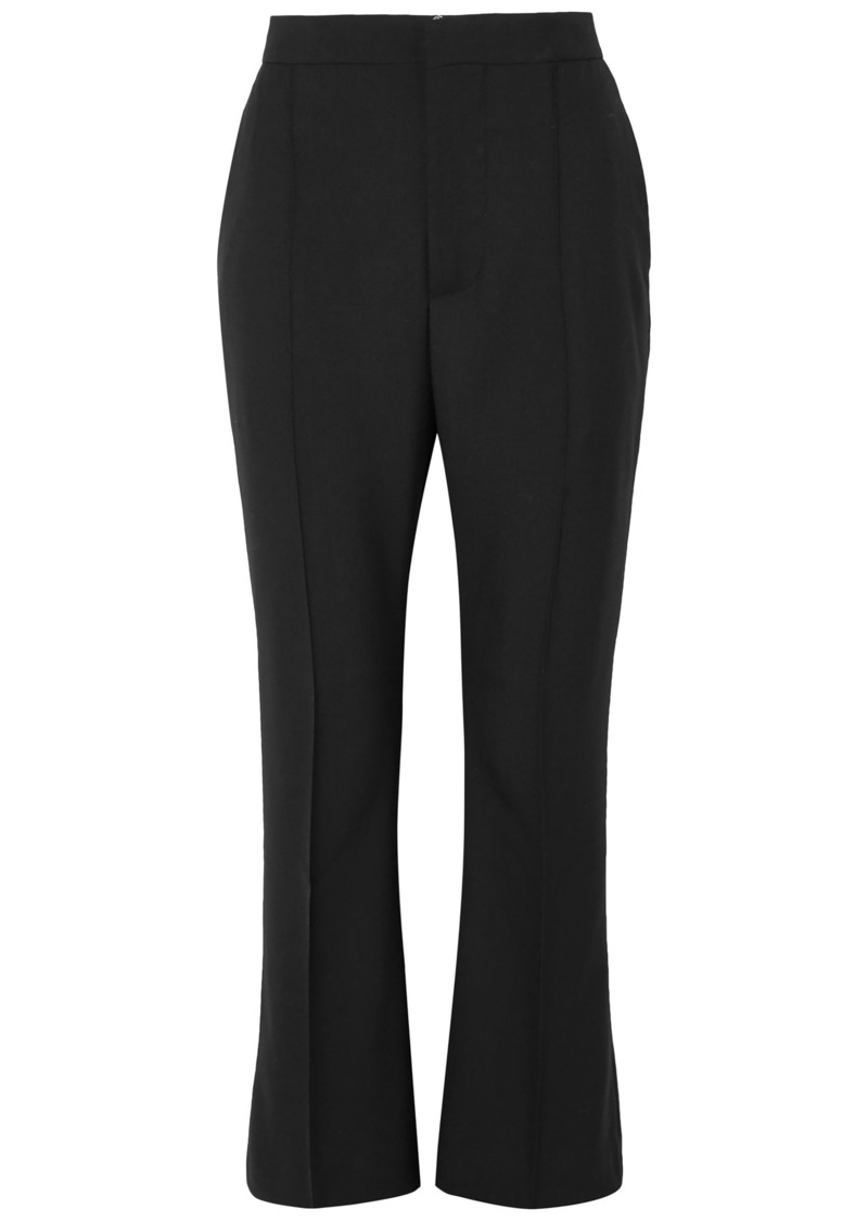 Marni Woman Wool Flared Pants Black