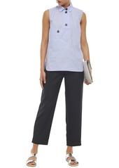 Marni Woman Wool Straight-leg Pants Black