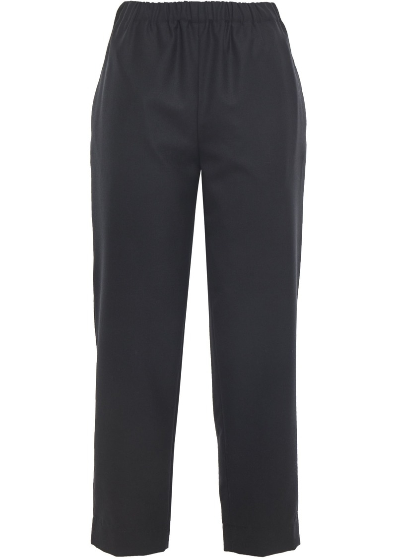 Marni Woman Wool Straight-leg Pants Black