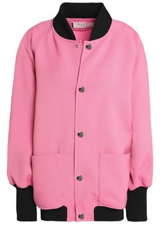 Marni Woman Woven Bomber Jacket Pink