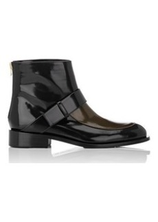 Marni Women's Colorblocked Spazzolato Leather Ankle Boots
