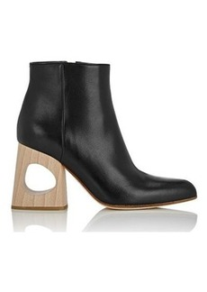 Marni Women's Cutout-Heel Ankle Boots