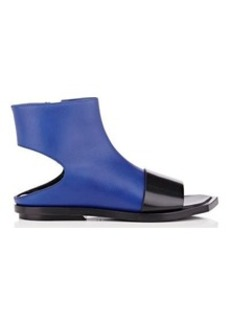 Marni Women's Cutout Leather Ankle Boots
