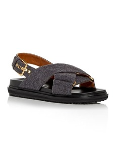 Marni Women's Fussbett Crossover Sandals