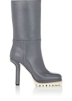 Marni Women's Sculpted-Heel Mid-Calf Boots