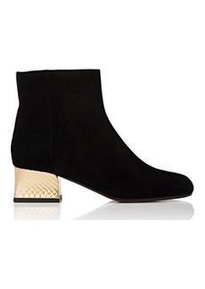 Marni Women's Snakeskin-Heel Ankle Boots