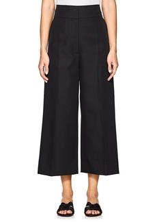 Marni Women's Twill Wide-Leg Crop Trousers