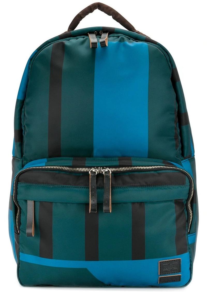 Marni x Porter striped backpack