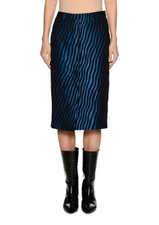 Marni Zebra Pencil Skirt