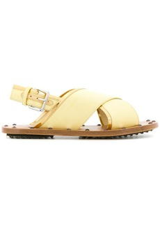 Marni metallic trim sandals
