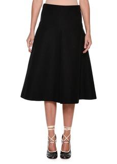 Marni Mid-Calf Circle Cotton Woven Skirt