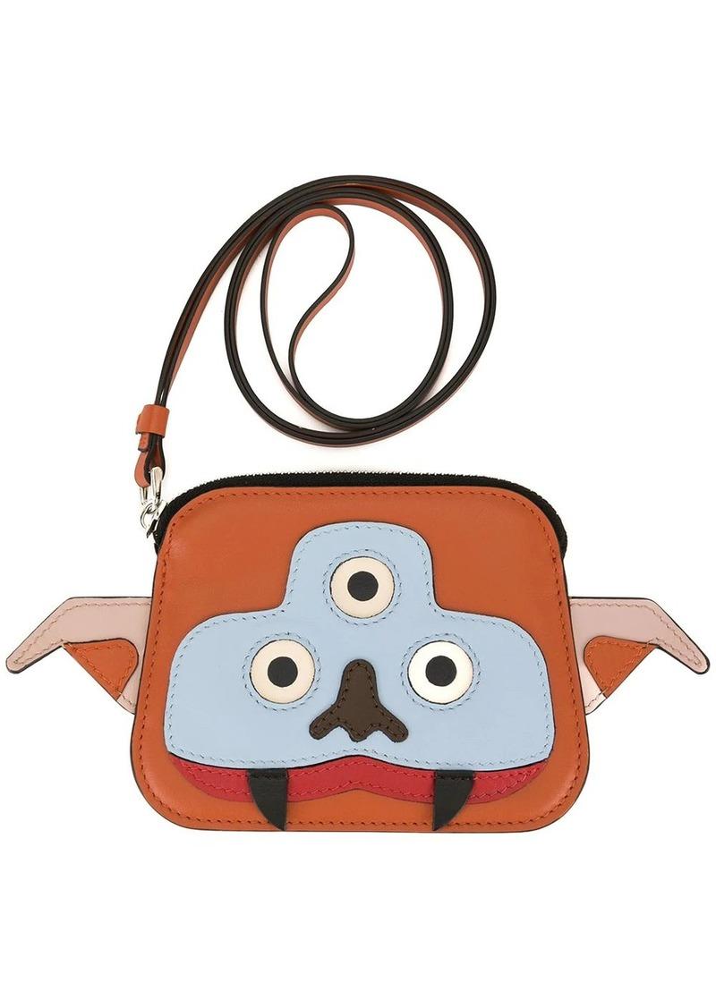 Marni Monster neck strap wallet