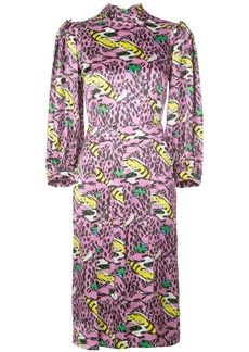 Marni monster print dress