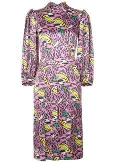 Marni monster print dress