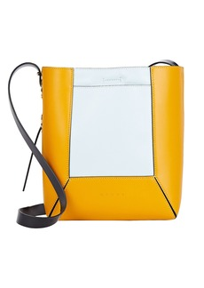 Marni Nemo Small Colorblock Leather Bag
