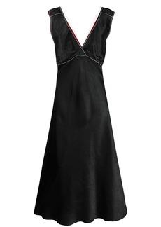 Marni net-trimmed dress