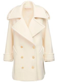 Marni Oversize Wool Blend Pea Coat