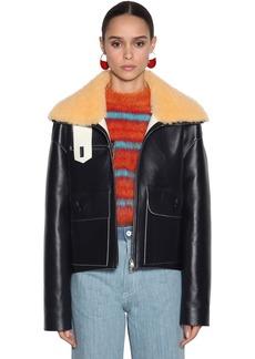 Marni Oversize Leather Jacket