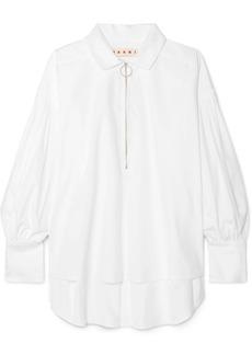 Marni Oversized Cotton-poplin Shirt