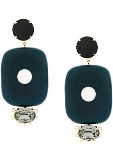 Marni oversized drop earrings